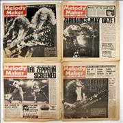 Click here for more info about 'Led Zeppelin - 4 Issues Of Melody maker'