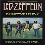 Click here for more info about 'Led Zeppelin - At Knebworth 1979 - EX'