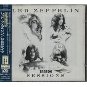 Led Zeppelin BBC Sessions Japan 2-CD album set Promo