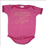 Click here for more info about 'Led Zeppelin - Baby Grow [Pink]'