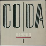 Led Zeppelin Coda Portugal vinyl LP