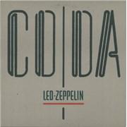 Led Zeppelin Coda Canada vinyl LP