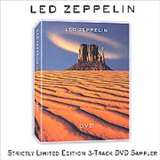 Click here for more info about 'Led Zeppelin - Strictly Limited Edition 3-Track DVD Sampler'