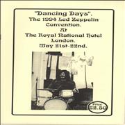 Click here for more info about 'Led Zeppelin - Dancing Days - The 1994 Led Zeppelin Convention'