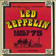 Click here for more info about 'Led Zeppelin - Earl's Court 75 + 17th Ticket'