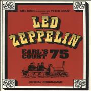 Click here for more info about 'Led Zeppelin - Earl's Court 75 + 25th Ticket'