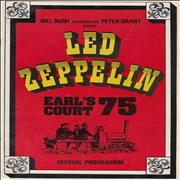 Click here for more info about 'Led Zeppelin - Earl's Court 75 + Ticket Stub'
