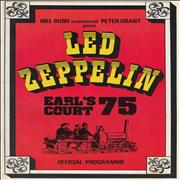 Click here for more info about 'Led Zeppelin - Earl's Court '75 - EX'