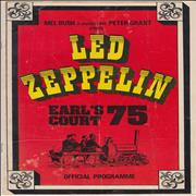 Click here for more info about 'Led Zeppelin - Earl's Court '75 - VG'