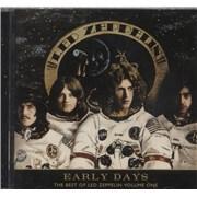 Led Zeppelin Early Days - The Best Of Led Zeppelin Volume One Japan CD album