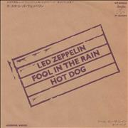 Click here for more info about 'Led Zeppelin - Fool In The Rain'