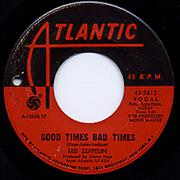 Click here for more info about 'Led Zeppelin - Good Times Bad Times'