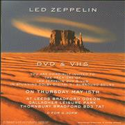 Click here for more info about 'Led Zeppelin - How The West Was Won - Invite'
