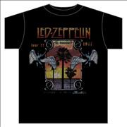 Click here for more info about 'Led Zeppelin - Inglewood Vintage T-Shirt - Large'