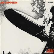 Click here for more info about 'Led Zeppelin - Led Zeppelin - barcoded p/s - EX'