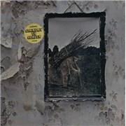 Led Zeppelin Led Zeppelin 4 - Sealed - deletion cut USA vinyl LP