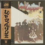 Click here for more info about 'Led Zeppelin - Led Zeppelin II + Poster & Obi'