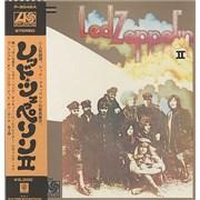Led Zeppelin Led Zeppelin II - ¥2300 + poster Japan vinyl LP