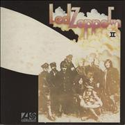 Click here for more info about 'Led Zeppelin - Led Zeppelin II - 3rd - Dark Brown Sleeve - VG'