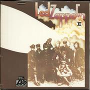 Click here for more info about 'Led Zeppelin - Led Zeppelin II - Mid 80s - EX'