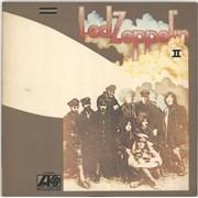 Led Zeppelin Led Zeppelin II Japan vinyl LP