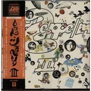 Led Zeppelin Led Zeppelin III + Poster + Obi Japan vinyl LP