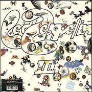 Click here for more info about 'Led Zeppelin III - 180gm'