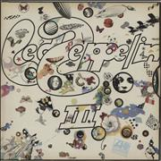 Click here for more info about 'Led Zeppelin - Led Zeppelin III - 1st [B] - EX'