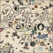 Click here for more info about 'Led Zeppelin - Led Zeppelin III - 6th - Mislabelled'