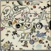 Led Zeppelin Led Zeppelin III - Export Germany vinyl LP