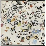 Led Zeppelin Led Zeppelin III - Final Vinyl Japan vinyl LP