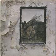 Click here for more info about 'Led Zeppelin - Led Zeppelin IV - 4th - Crossed out B'