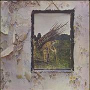 Click here for more info about 'Led Zeppelin - Led Zeppelin IV - 6th - Top - EX'