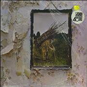 Click here for more info about 'Led Zeppelin - Led Zeppelin IV - 80s - Shrink & Stickered'
