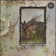 Click here for more info about 'Led Zeppelin - Led Zeppelin IV - Lilac Vinyl - EX'