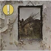 Led Zeppelin Led Zeppelin IV - barcoded Germany vinyl LP