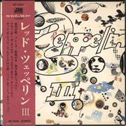 Click here for more info about 'Led Zeppelin III - Complete - VG'