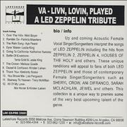 Click here for more info about 'Led Zeppelin - Livin' Lovin' Played: A Led Zeppelin Tribute'