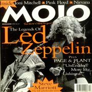 Click here for more info about 'Led Zeppelin - Mojo - Issue 12'