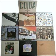 Led Zeppelin Paper Sleeve Collection - German Germany CD album
