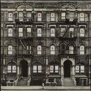 Click here for more info about 'Physical Graffiti - 80s Mispelling - VG'