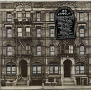 Led Zeppelin Physical Graffiti - Sealed - T/L Sticker USA 2-LP vinyl set
