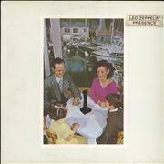 Click here for more info about 'Led Zeppelin - Presence - 1½ - Title Stickered Sleeve'