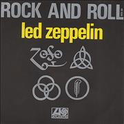 Click here for more info about 'Led Zeppelin - Rock And Roll - Red Injection Labels'