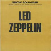 Click here for more info about 'Led Zeppelin - Show Souvenir - 1st'