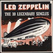 Click here for more info about 'Led Zeppelin - The 10 Legendary Singles'