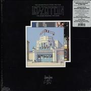 Led Zeppelin The Song Remains The Same - 180gm - WHITE USA vinyl box set