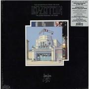 Led Zeppelin The Song Remains The Same - 180gm - WHITE - Sealed USA vinyl box set