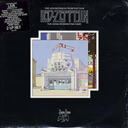 Led Zeppelin The Song Remains The Same - stickered shrink USA 2-LP vinyl set