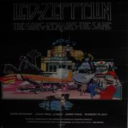 Led Zeppelin The Song Remains The Same UK poster